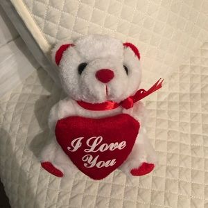 """Other - FREE WITH PURCHASE """"I love you"""" bear"""